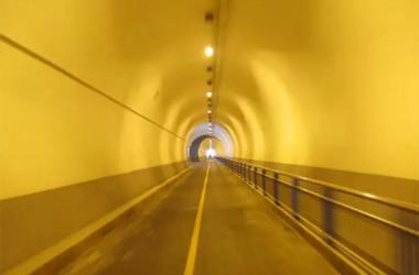 760メートルのトンネル